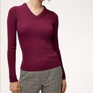Babaton Wiley V neck Sweater